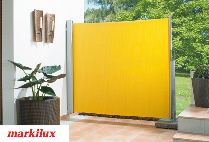 stores lat raux pour balcon ou terrasse markilux store d. Black Bedroom Furniture Sets. Home Design Ideas